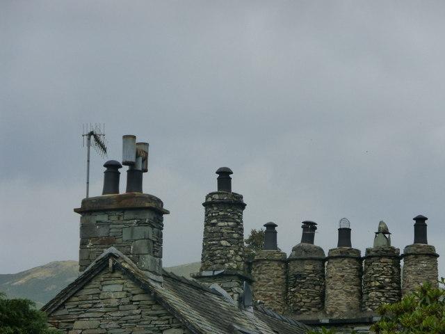 Chimneys at Skelwith Bridge