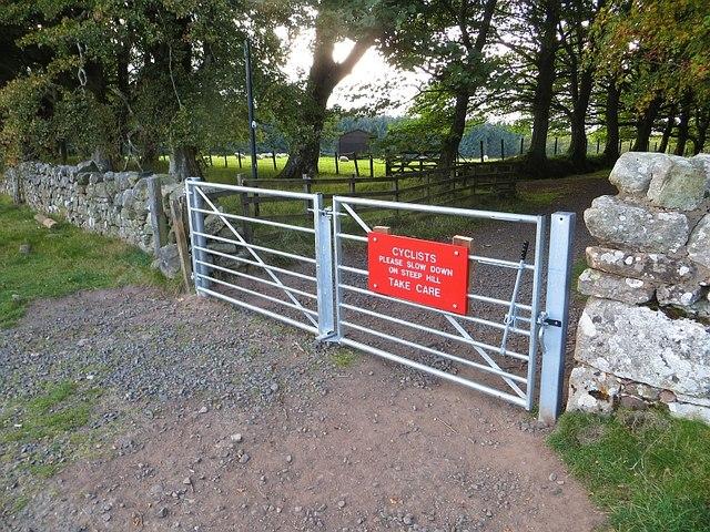 New gate, Bavelaw