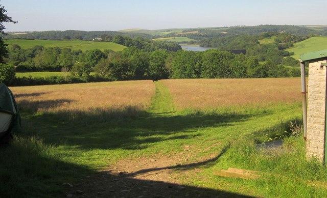 Footpath near Trevollard