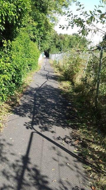 Footpath near Royal Bolton Hospital