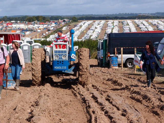 Suitable transport for a wet Great Dorset Steam Fair