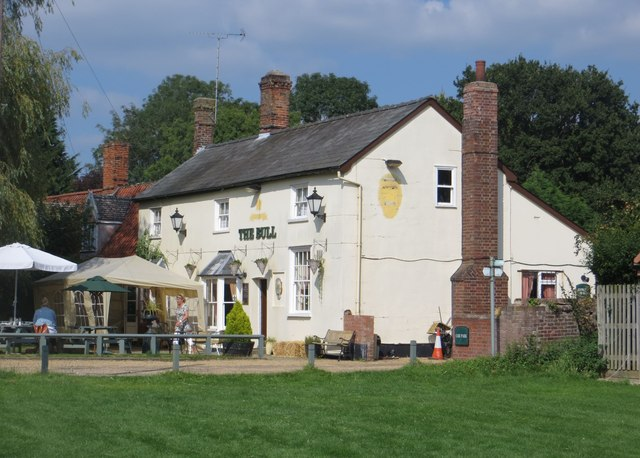 The Bull public house, Burrough Green