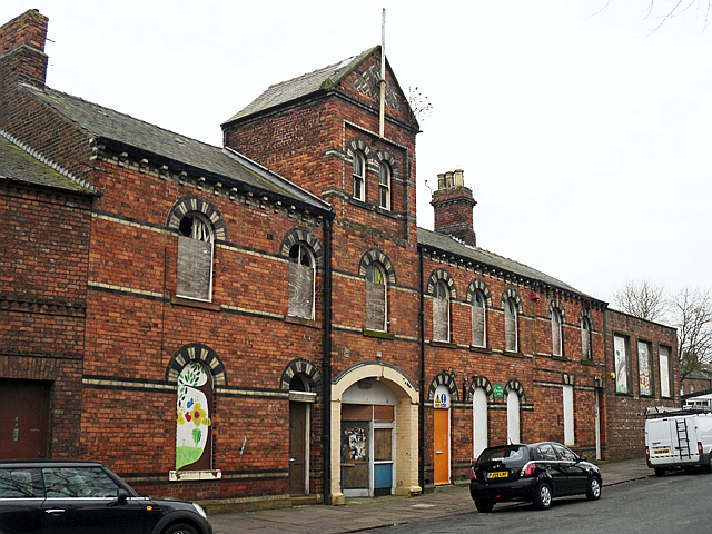 The former Drill Hall, frontage on Strand Road
