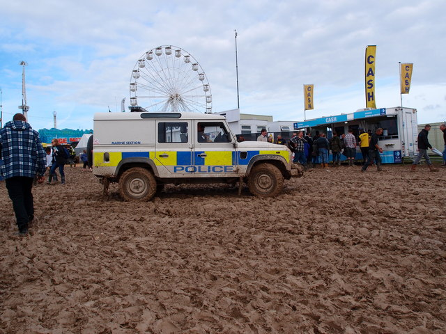 All at sea (of mud) for the Marine Police