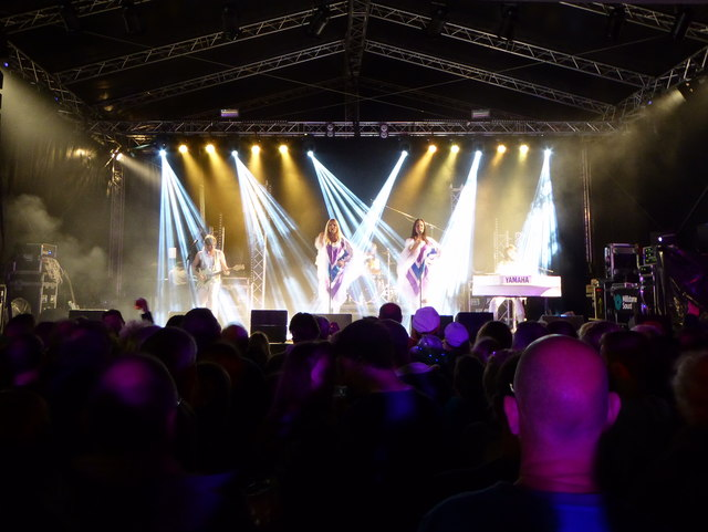 Abba Revival performing in Events Square