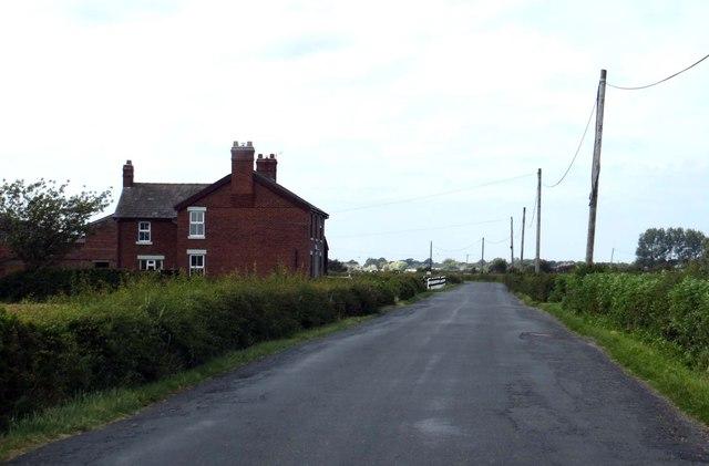 Garstang Road passes Calald's Farm