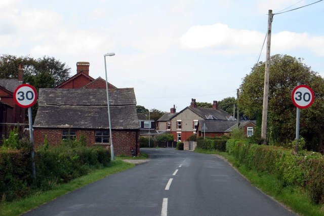 Garstang Road entering Jarvis Carr