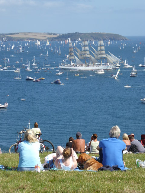 Watching the Parade of Sail