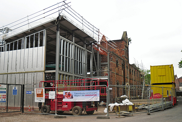 New arts complex for Carlisle College under construction