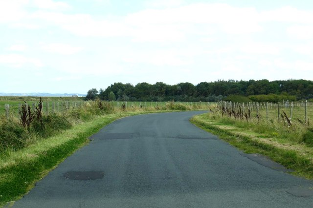 Minor road out of Pilling