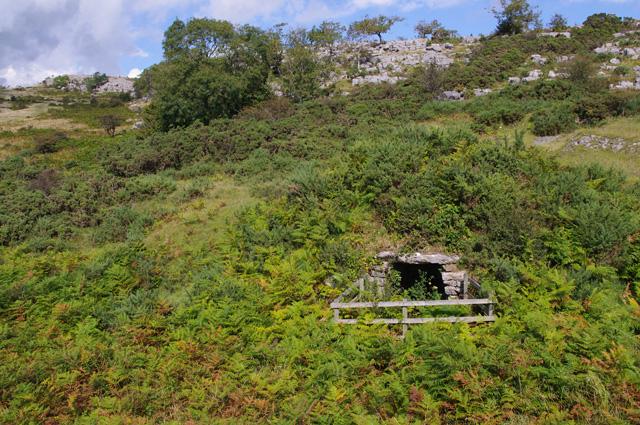 Old lime kiln, Holmepark Fell