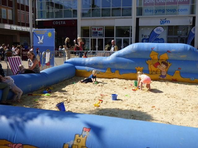Crawley:  Children's sand area