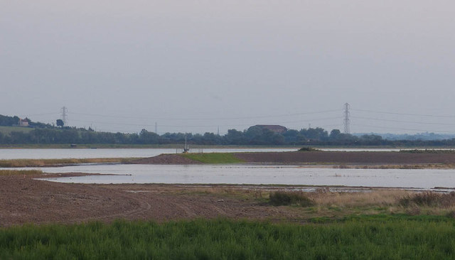 Steart Marshes Project , first flooding