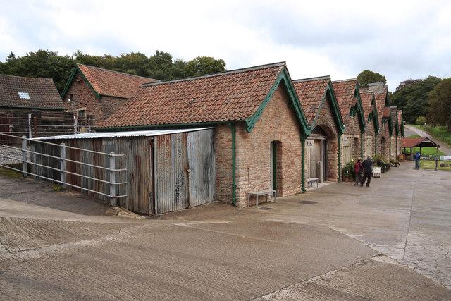 Barns at Tyntesfield