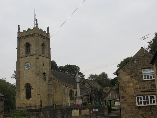 The Church of St Peter at Thorner