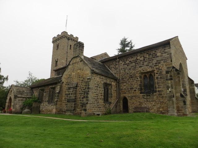 All Hallows Church at Bardsey