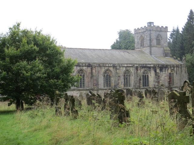 All Saints Church at Harewood