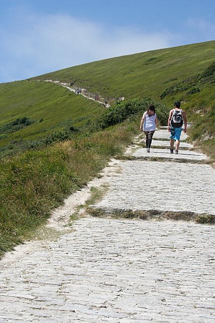 Path on Hambury Tout
