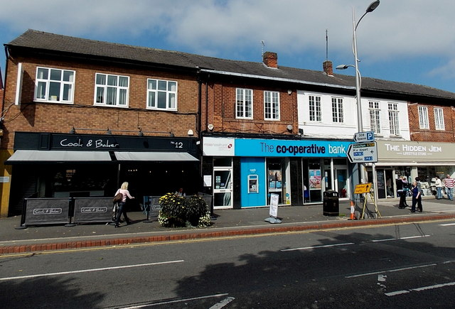 The Co-operative Bank, Wilmslow