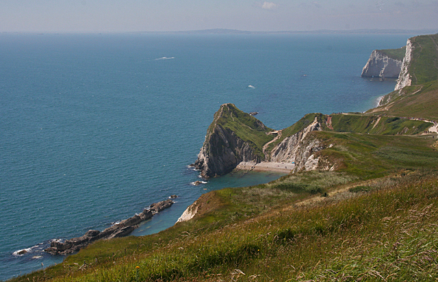 Man o' War and Durdle Door