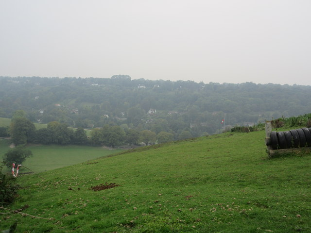 View towards Woldingham