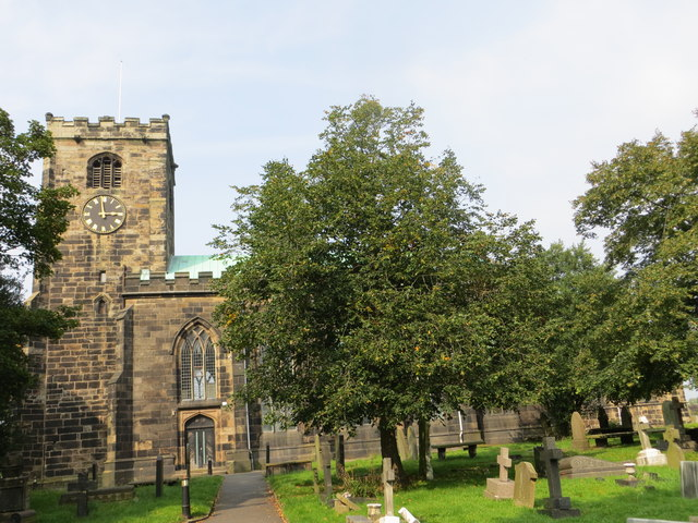 The Church of St Andrew at Leyland