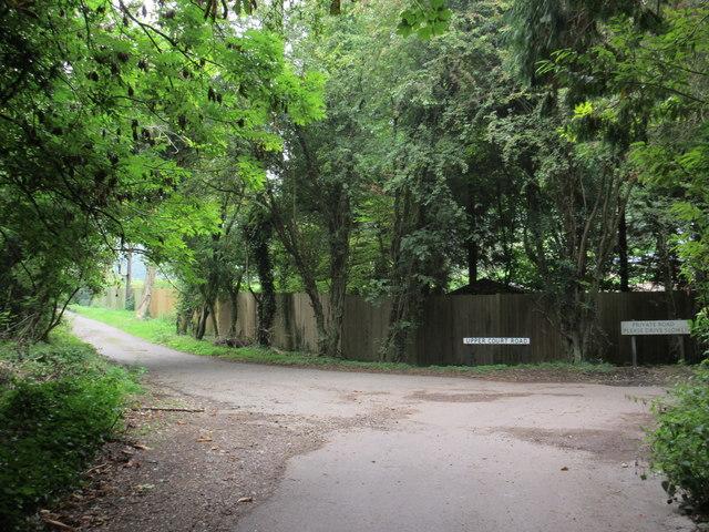 Southfields Road meets Upper Court Road