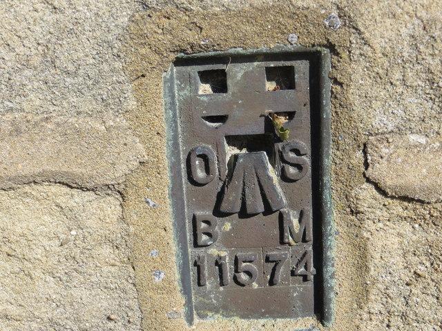 Ordnance Survey Flush Bracket 11574