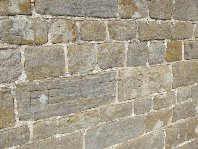 St James, Stedham: date stones