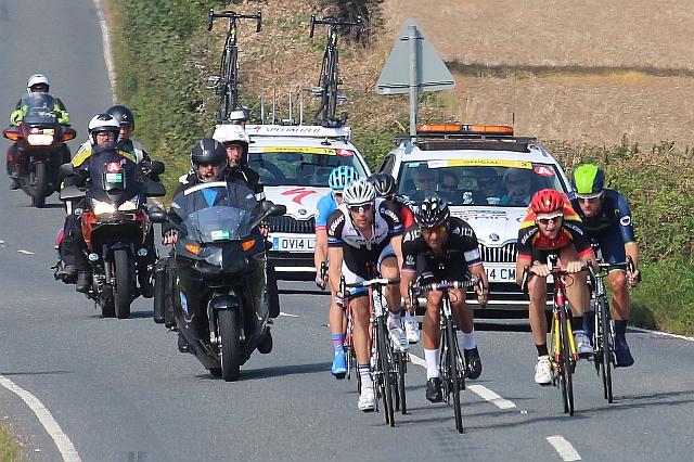 Tour of Britain cycle race, Little Malvern