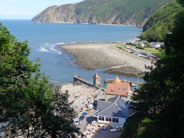 Lynmouth from up high