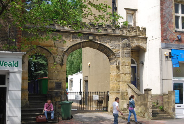 Archway to the Priory