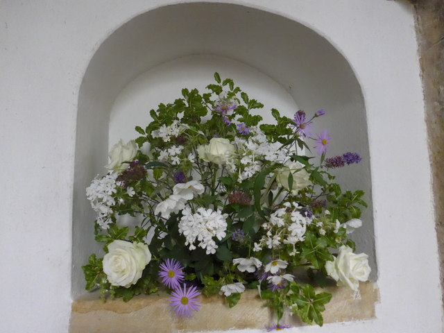 All Hallows, Woolbeding: floral display