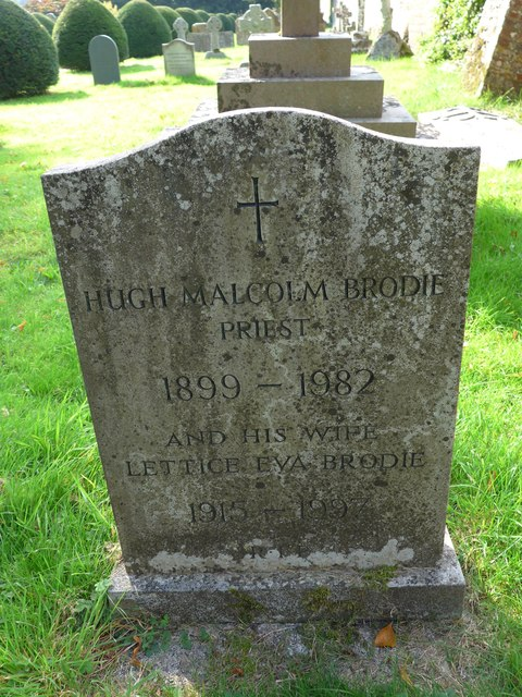 All Hallows, Woolbeding: memorial to a former incumbent (C)