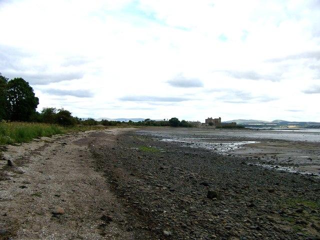 Looking across the bay towards Blackness Castle