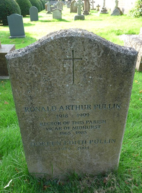 All Hallows, Woolbeding: memorial to a former incumbent (D)
