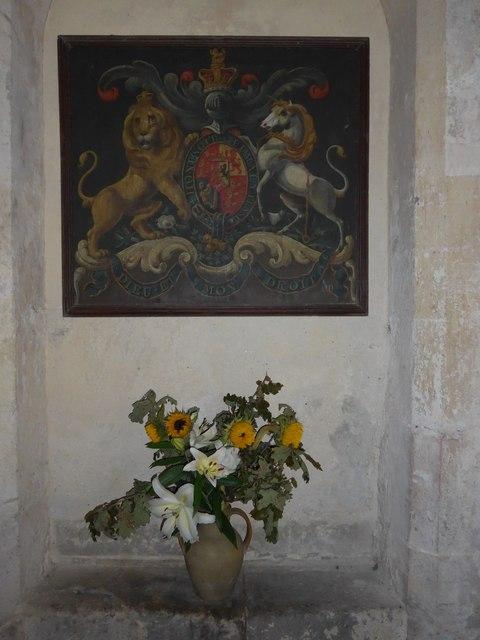 Saint George, Trotton: flowers