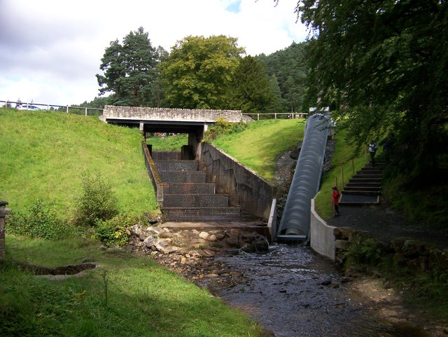 The Archimedes screw system which produces about 12kw of electricity