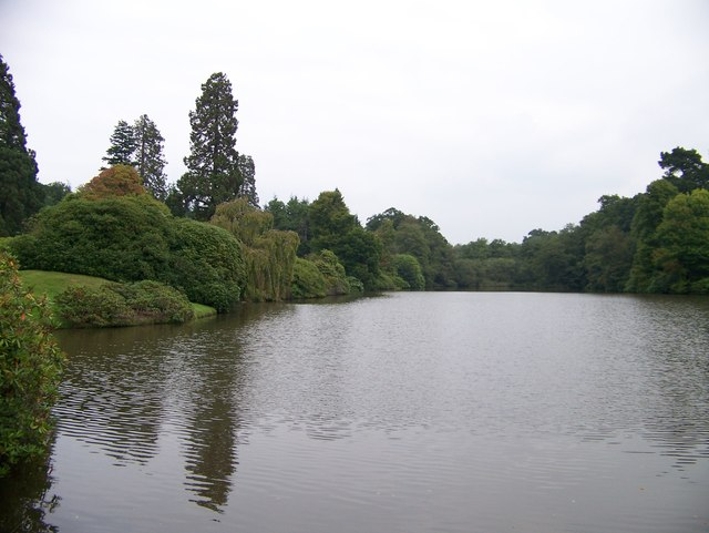 Upper Womans Way Pond at Sheffield Park