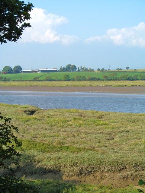Afon Taf near Laugharne