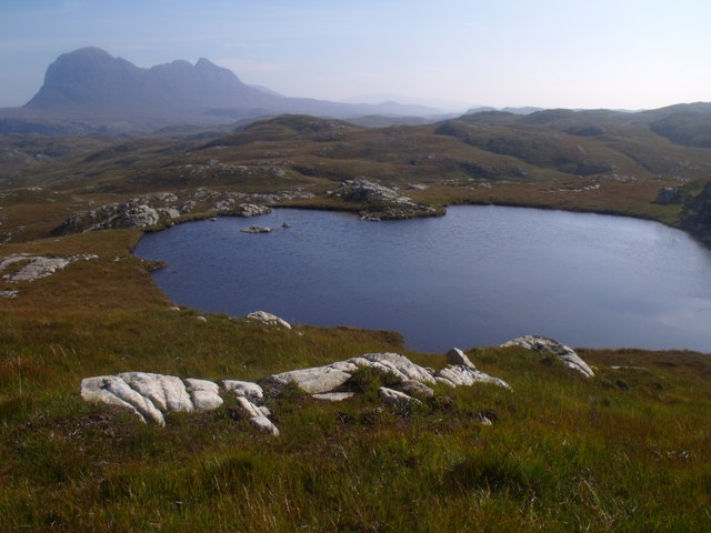 Lochan above Clais Fearna near Lochinver
