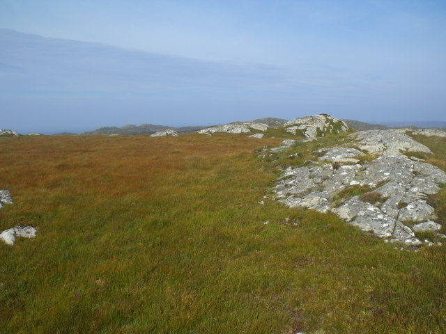Summit area of big cnoc above Clais Fearna near Lochinver