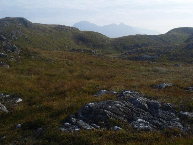 West end of Creag nan Sithean near Lochinver