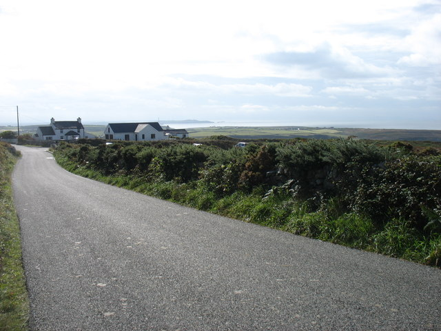 The lane from South Stack to Holyhead