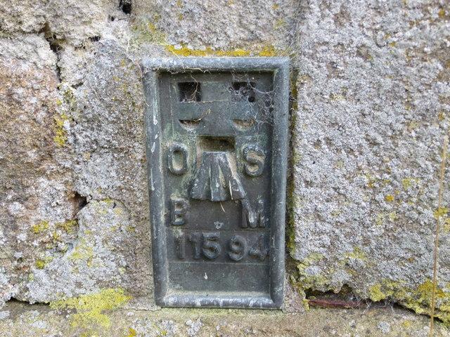 Ordnance Survey Flush Bracket 11594