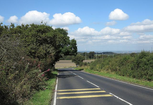Birkland Lane approaching A6076