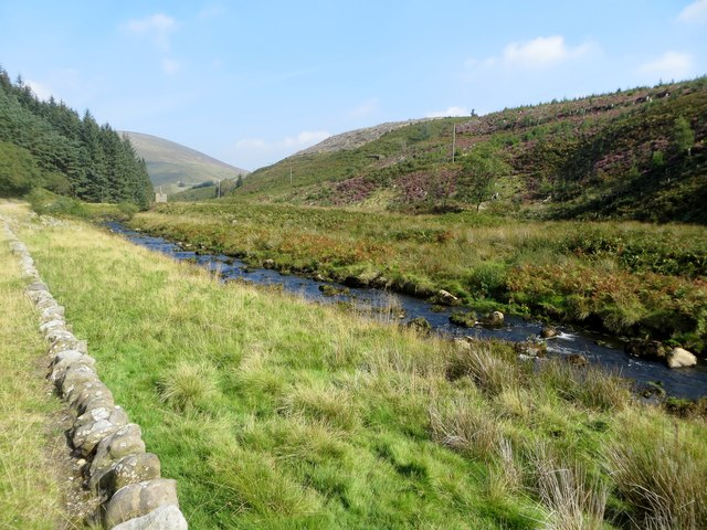 On the banks of the Dunsop