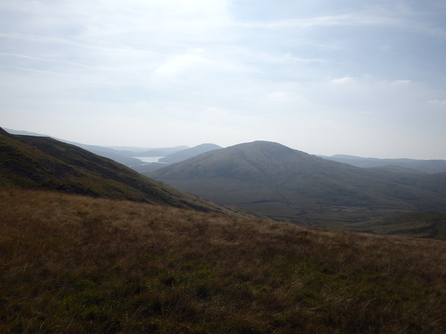 Descending Carn Gwilym