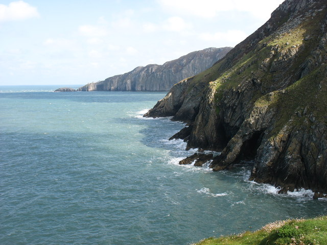 The coast near South Stack