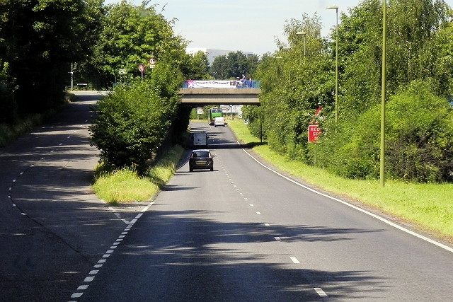Ringway West, Worting Road Bridge